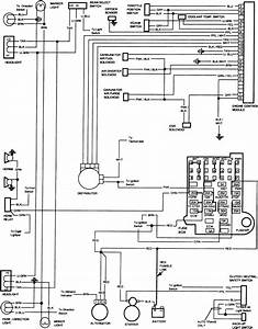 Need 1986 Chevrolet C  K Truck Printed Circuit Board Diagram