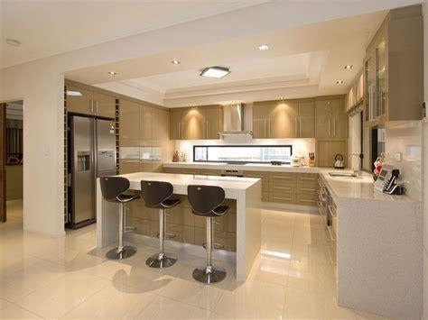 open kitchen ideas photos modern open plan kitchen design polished concrete