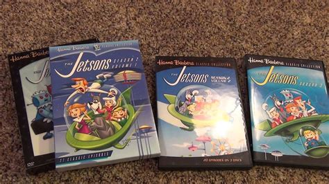 The Jetsons Complete Series On Dvd Hanna Barbera Amazon