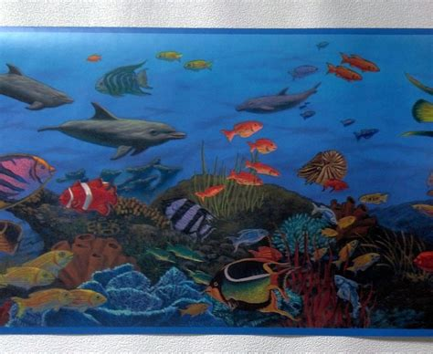 Animal Wallpaper Border - sea animals wallpaper border wallpapersafari