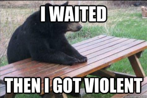 Patient Bear Meme - ea forums