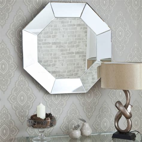 octagon mirrors decorative bevelled octagonal mirror by decorative mirrors