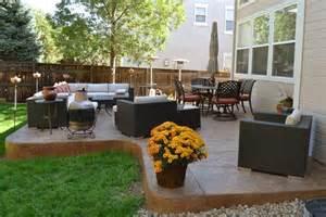 outdoor furniture and arrangement home outdoor living