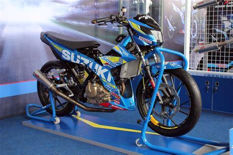 suzuki satria fu  fi injection road racing