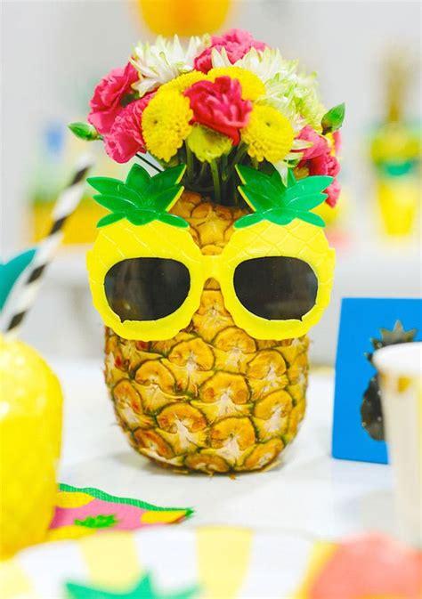 tropical  birthday party ideas  summer brit