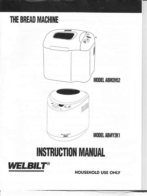 Maybe you would like to learn more about one of these? Welbilt ABM2H52 - ABMY2K1 Bread Machine Manual | Flour | Breads