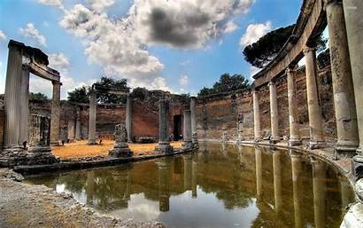 Ancient Greek Greece Wallpapers Temple Ruins Architecture