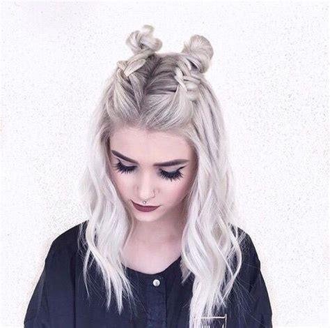 halblange haare stylen pin katharina kreuzpaintner auf frisuren frisuren