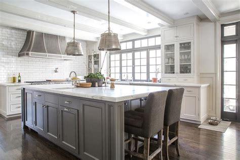 white kitchen gray island white kitchen island with gray velvet counter stools 1380