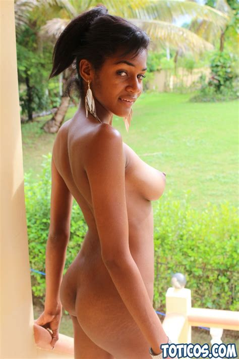 Black Dominican barbie doll with great tits gets fucked ...