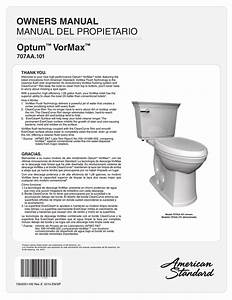 American Standard 707aa101 020 Installation Guide