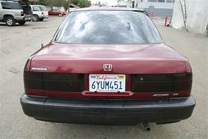 1991 Honda Accord Dx Sedan 5 Speed Manual 4 Cylinder No
