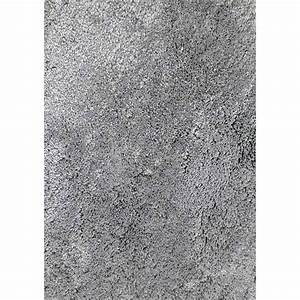 tapis gris shaggy agathe l120 x l170 cm leroy merlin With tapis but gris