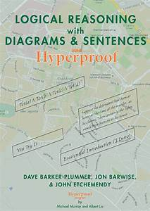 Logical Reasoning With Diagrams And Sentences  Using Hyperproof  Barker