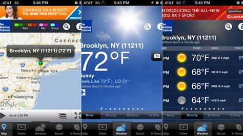 weather channel app for iphone new iphone apps foodspotting the weather channel and