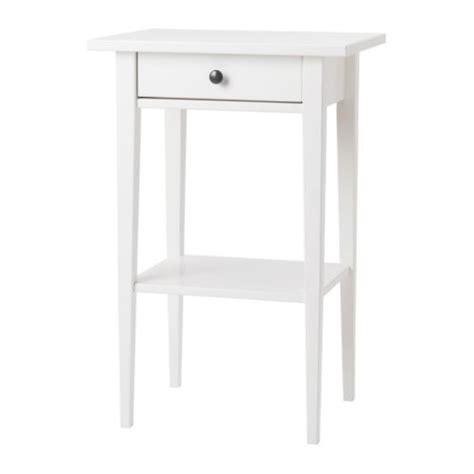 chambre hemnes hemnes table de chevet blanc ikea