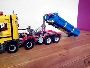 Lego Technic Camion : lego technic moc camion benne youtube ~ Nature-et-papiers.com Idées de Décoration