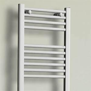 Seche Serviette Radiateur : seche serviette electrique rond 40 cm 500w radiateur salle de bain ~ Melissatoandfro.com Idées de Décoration