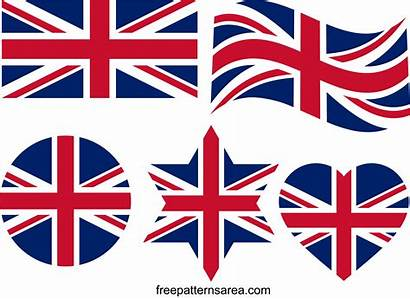 Union Flag Jack Flags British Template Svg