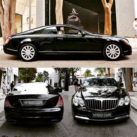 pictures   uber rare maybach  xenatec coupe