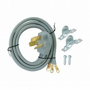 Ez-flo 10 Ft  6  3 3-wire Range Cord-61244