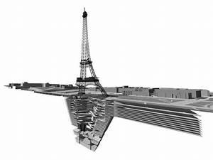 Ensa Paris Val De Seine : la tour eiffel relook e par des architectes pour son ~ Nature-et-papiers.com Idées de Décoration