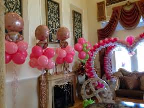 Girl Baby Shower Balloon Decorations