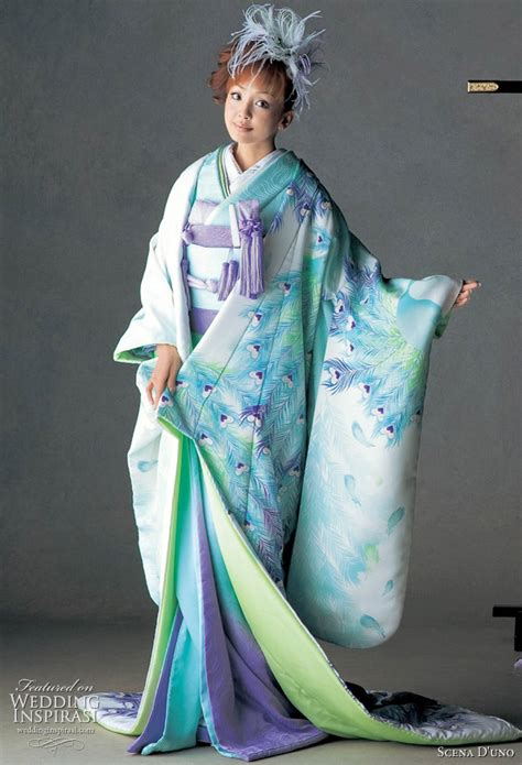 Traditional Japanese Wedding Kimono by Colorful Japanese Wedding Kimonos 2010 2011