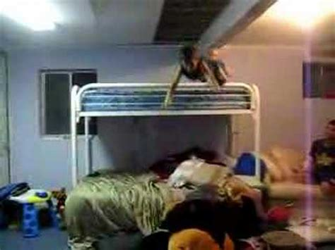 ali jumping  bunk bed youtube