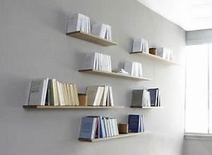 Bibliothèque Murale Design : tag re fixation invisible la manufacture nouvelle ~ Teatrodelosmanantiales.com Idées de Décoration