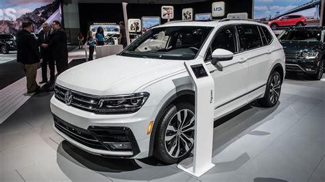 All New 2018 Volkswagen Tiguan R Line  La Auto Show 2017