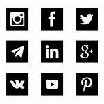 Social Icons Square Icon Marketing Computer Transparent