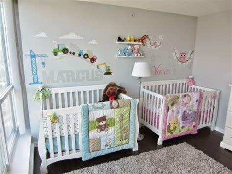 Dormitorios Para Bebes Gemelos O Mellizos