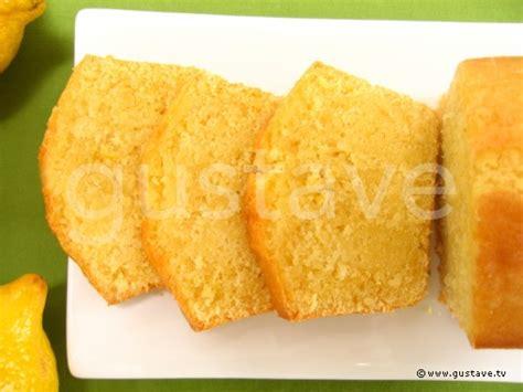 cake au citron la recette gustave