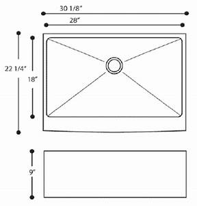 heavy duty 16 gauge 304 stainless steel undermount kitchen With apron sink sizes