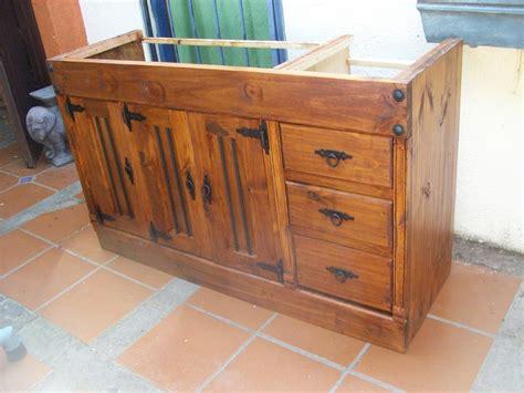 mueble cocina rustico  en mercado libre