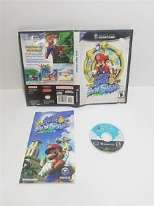Super Mario Sunshine For Nintendo Gamecube With Box And