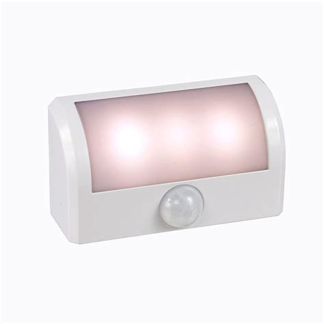 motion activated night light amerelle motion activated battery path led night light