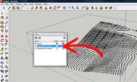 How To Create Contour Lines Using Sketchup 7 Steps