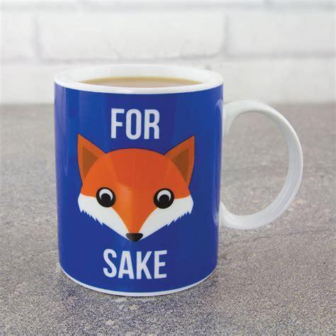 For Fox Sake Mug   IWOOT