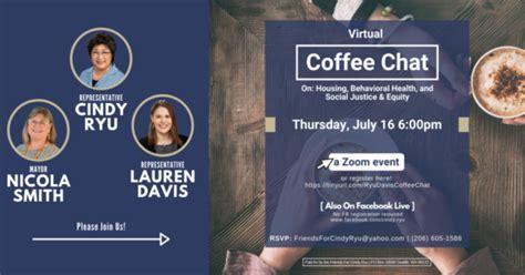 44th & 212th mountlake terrace. Virtual coffee chat July 16 with State Reps. Cindy Ryu, Lauren Davis - My Edmonds News
