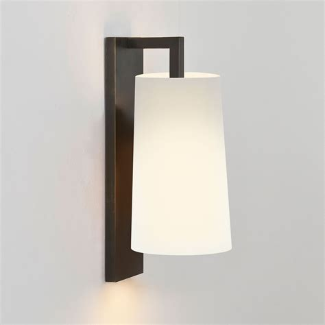 astro lago 280 bronze bathroom wall light at uk electrical