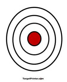 printable large bullseye shooting target