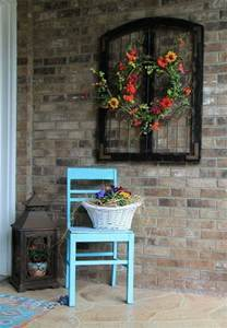 Charming rustic outdoor wall decor home decorating