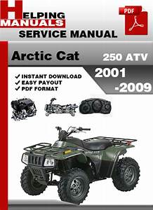 Arctic Cat 250 Atv 2001-2009 Service Repair Manual Download