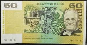 Australian Paper Fifty Dollar Note Value