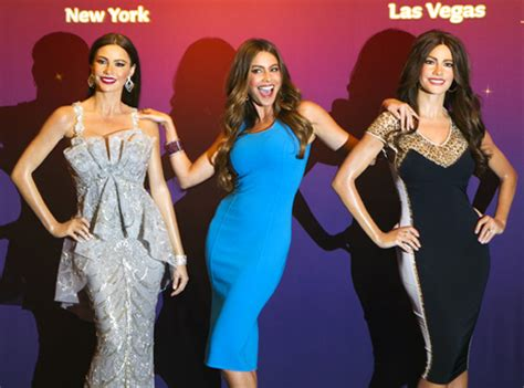 sofia vergara quentin tarantino sexy quirky funny hollywood s finest at tussauds