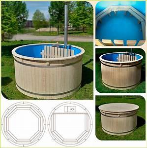 Spa En Bois Pas Cher : bain cuve bois spa bois qualit scandinave pas cher hot tub ~ Premium-room.com Idées de Décoration