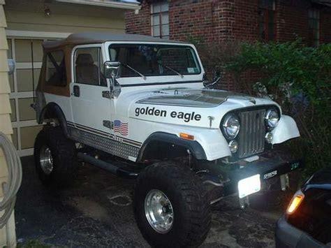 jeep eagle for sale jeep cj 7 golden eagle picture 4 reviews news specs