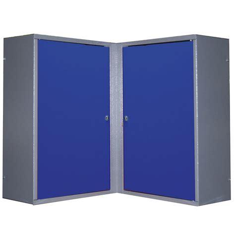 armoire de rangement en m 233 tal bleu kupper leroy merlin